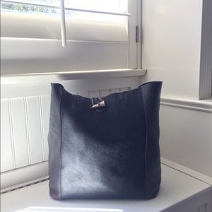 Lucky Brand Calf Hair and Leather Tote